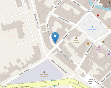 Adresse Caf du Pas-de-Calais - Point relais de Hesdin