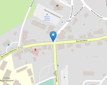 Adresse Caf de Saône-et-Loire - Point relais de Montceau-les-Mines
