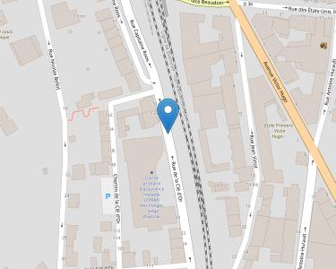 Adresse CPAM des Vosges - siège d'Épinal