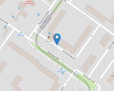 Adresse CPAM de Maine-et-Loire - accueil d'Angers - La Roseraie