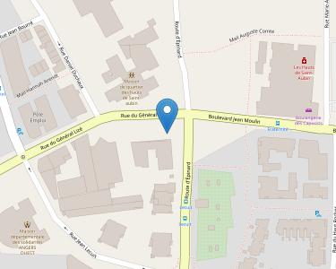 Adresse CPAM de Maine-et-Loire - accueil d'Angers - Relais mairie des Hauts-de-Saint-Aubin