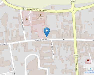 Adresse CPAM de Charente - accueil de Ruffec