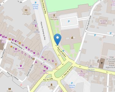 Adresse CPAM des Côtes-d'Armor - accueil de Guingamp