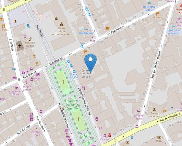 Adresse CPAM de Paris - accueil de Saint-Lambert