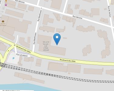 Adresse CPAM de Haute-Saône - siège de Vesoul
