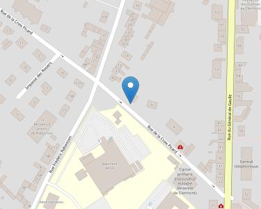 Adresse CPAM de l'Oise - accueil de Clermont