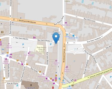 Adresse CPAM du Tarn - AGENCE CASTRES