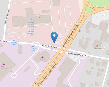 Adresse CPAM du Doubs - siège de Besançon