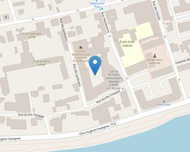Adresse CPAM du Lot - siège de Cahors