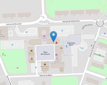 Adresse CPAM de Bayonne - accueil de Bayonne - Sainte-Croix