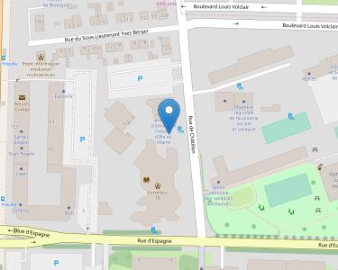 Adresse CPAM d'Ille-et-Vilaine - accueil de Rennes - Crimée-Châtillon