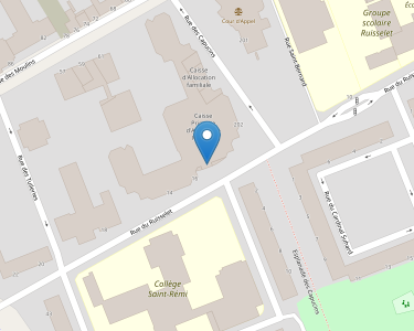Adresse CPAM de Marne - siège de Reims