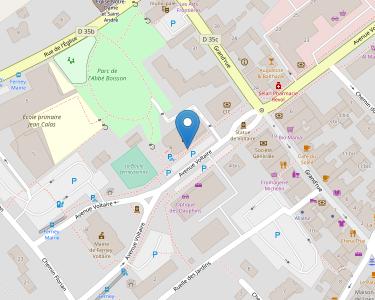 Adresse Caf de l'Ain - MSAP Ferney-Voltaire