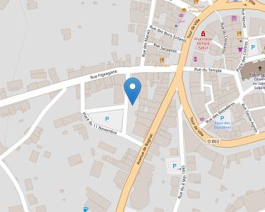 Adresse Caf du Cantal - MSAP Maurs