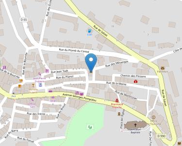 Adresse Caf du Cantal - MSAP Pierrefont
