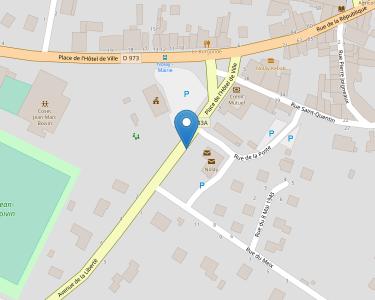 Adresse Caf de la Côte-d'Or - MSAP Nolay