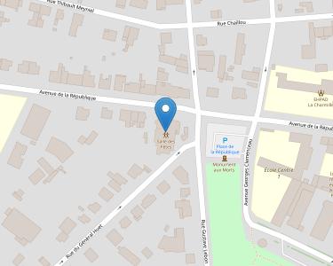 Adresse Caf de l'Eure-et-Loir - Point-relais Nogent-le-Rotrou