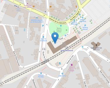 Adresse Caf de la Loire - MSAP Saint-Chamond