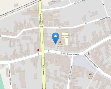 Adresse Caf du Pas-de-Calais - Point-relais Vitry-en-Artois