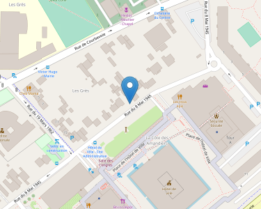Adresse CCAS DE NANTERRE