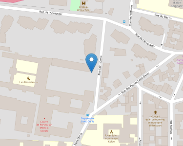 Adresse CENTRE DE GERONTOLOGIE LES ABONDANCES