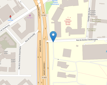 Adresse CENTRE HOSPITALIER DE ST-DENIS (HOPITAL DELAFONTAINE)