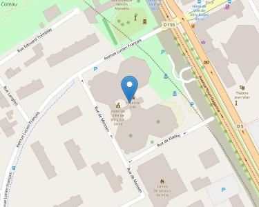 Adresse CCAS DE VITRY-SUR-SEINE