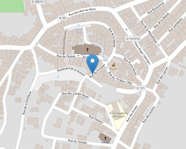 Adresse CCAS SAINT PARGOIRE