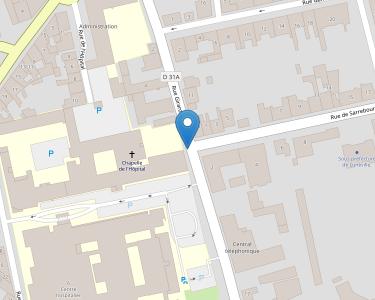 Adresse CENTRE HOSPITALIER DE LUNEVILLE