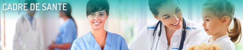 Annuaire des formations pour le métier Cadre de santé