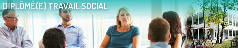 Annuaire des formations pour le métier Diplômé Travail social