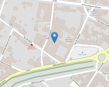 Adresse CENTRE HOSPITALIER DE LAVAUR