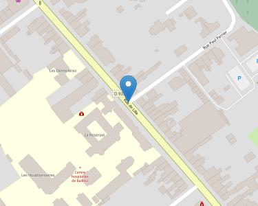 Adresse HOPITAL DE BAILLEUL