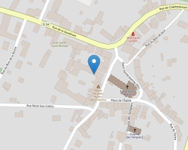 Adresse CCAS DE ST-AUBIN-DES-CHATEAUX