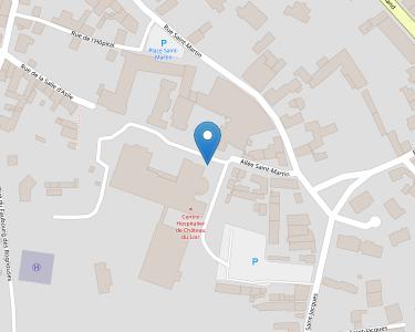 Adresse CENTRE HOSPITALIER CHATEAU DU LOIR