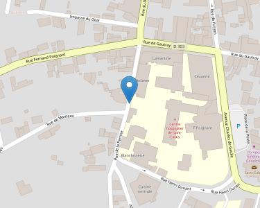 Adresse CENTRE HOSPITALIER DE ST CALAIS