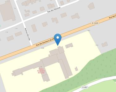 Adresse CENTRE HOSPITALIER DE GUISE