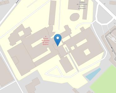 Adresse CH SAINT-QUENTIN