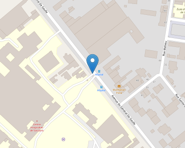 Adresse CENTRE HOSPITALIER DE SOISSONS