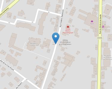 Adresse CENTRE HOSPITALIER GENERAL DE CLERMONT DE L'OISE