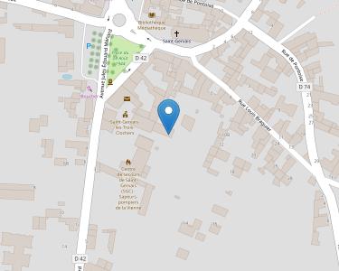 Adresse CCAS DE ST GERVAIS TROIS CLOCHERS