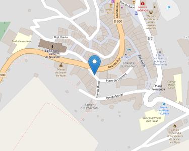Adresse HOPITAL LOCAL SAINT JACQUES DE SEYNE LES ALPES