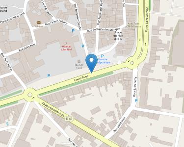 Adresse CENTRE HOSPITALIER JULES NIEL DE VALREAS