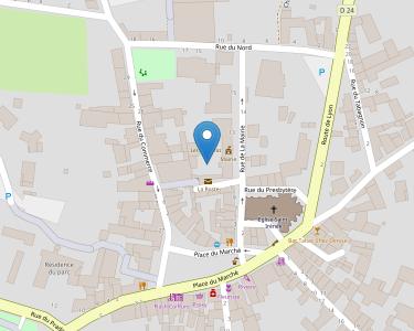 Adresse ASSOCIATION LOCALE D'AIDES MENAGERES