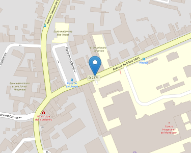 Adresse CENTRE HOSPITALIER DE MONTLUCON