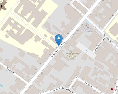 Adresse CENTRE HOSPITALIER H.MONDOR
