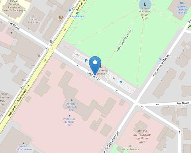 Adresse CONSEIL DEPARTEMENTAL DU HAUT-RHIN