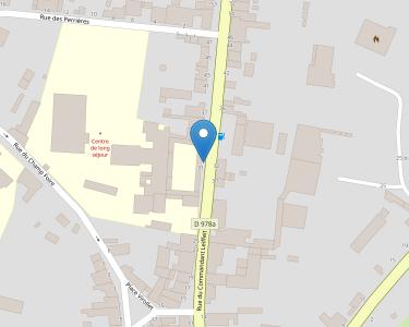 Adresse CENTRE DE LONG SEJOUR DE SAINT PIERRE-LE-MOUTIER