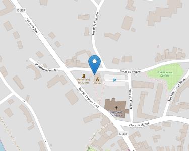 Adresse CCAS DE LA ROCHE JAUDY