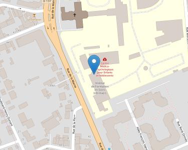 Adresse CENTRE HOSPITALIER BROUSSAIS